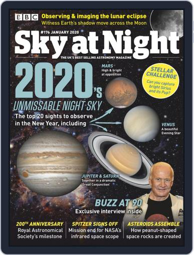 BBC Sky at Night (Digital) December 19th, 2019 Issue Cover