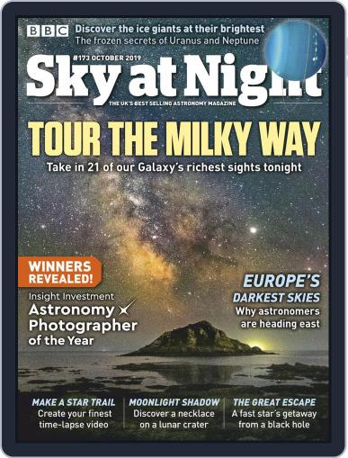 BBC Sky at Night (Digital) September 19th, 2019 Issue Cover