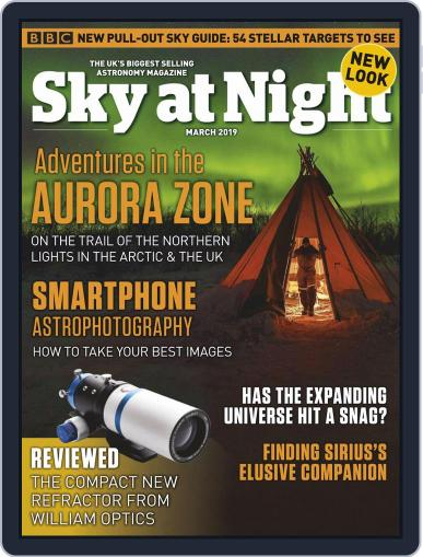 BBC Sky at Night (Digital) March 1st, 2019 Issue Cover
