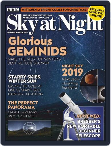 BBC Sky at Night (Digital) December 1st, 2018 Issue Cover