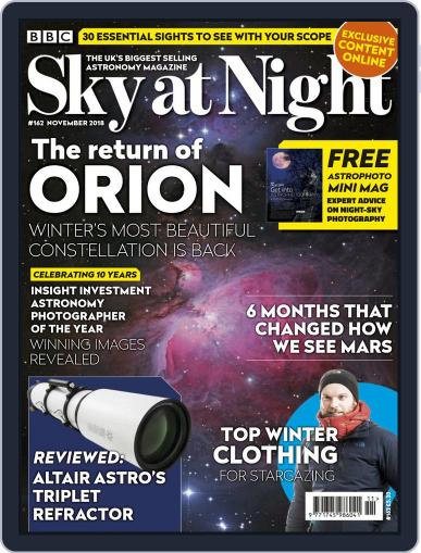 BBC Sky at Night (Digital) November 1st, 2018 Issue Cover