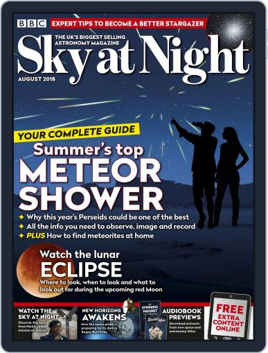 BBC Sky at Night (Digital) August 1st, 2018 Issue Cover