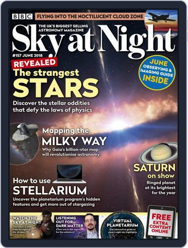 BBC Sky at Night (Digital) June 1st, 2018 Issue Cover