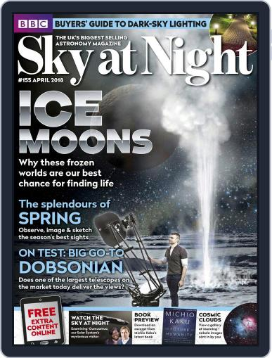 BBC Sky at Night April 1st, 2018 Digital Back Issue Cover