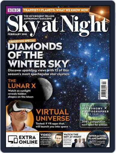 BBC Sky at Night (Digital) February 1st, 2018 Issue Cover