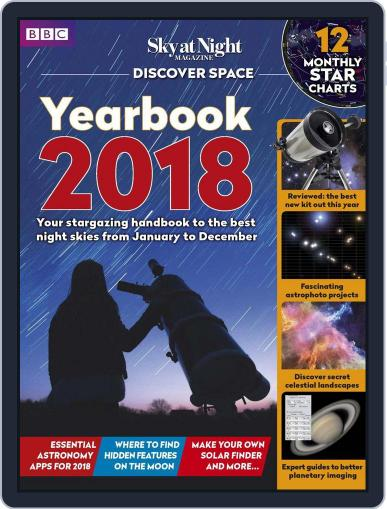 BBC Sky at Night January 1st, 2018 Digital Back Issue Cover