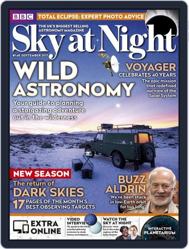 BBC Sky at Night (Digital) September 1st, 2017 Issue Cover