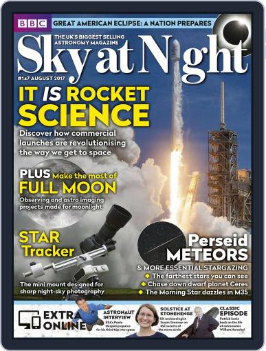 BBC Sky at Night (Digital) August 1st, 2017 Issue Cover