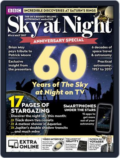 BBC Sky at Night May 1st, 2017 Digital Back Issue Cover