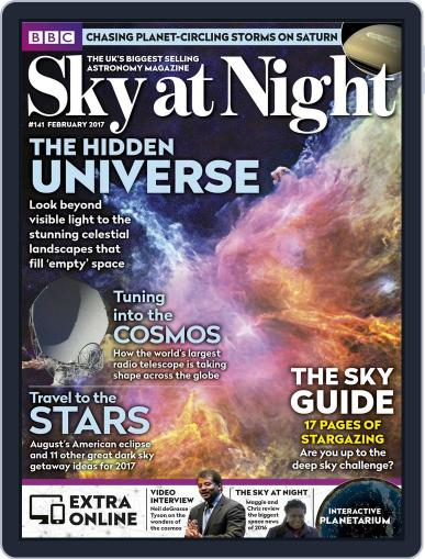 BBC Sky at Night (Digital) February 1st, 2017 Issue Cover
