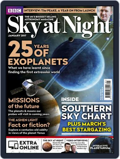 BBC Sky at Night (Digital) January 1st, 2017 Issue Cover