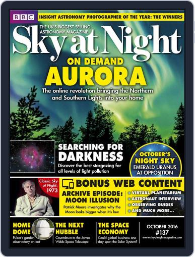 BBC Sky at Night (Digital) October 1st, 2016 Issue Cover