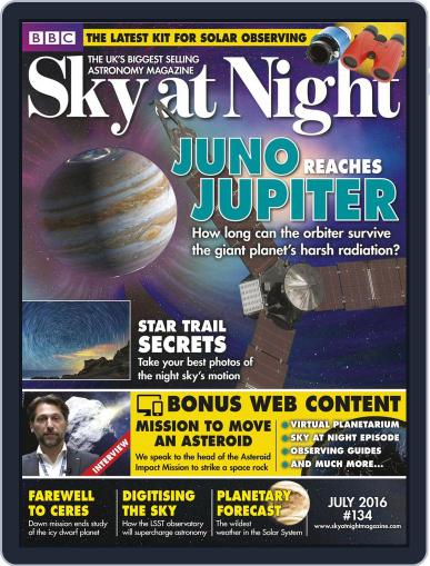 BBC Sky at Night (Digital) June 23rd, 2016 Issue Cover