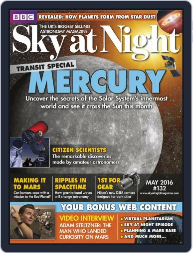BBC Sky at Night (Digital) April 21st, 2016 Issue Cover