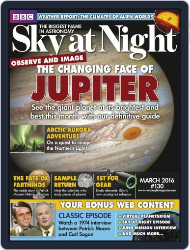 BBC Sky at Night (Digital) February 18th, 2016 Issue Cover