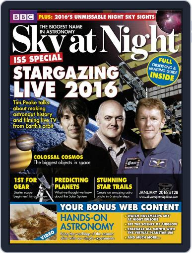 BBC Sky at Night (Digital) December 17th, 2015 Issue Cover