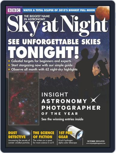 BBC Sky at Night (Digital) September 30th, 2015 Issue Cover