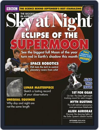 BBC Sky at Night (Digital) August 31st, 2015 Issue Cover
