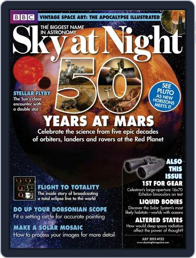BBC Sky at Night (Digital) June 30th, 2015 Issue Cover