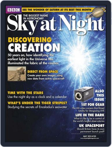 BBC Sky at Night (Digital) April 30th, 2015 Issue Cover