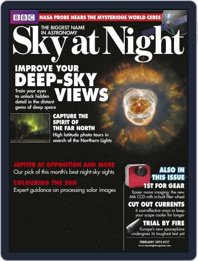 BBC Sky at Night (Digital) January 31st, 2015 Issue Cover