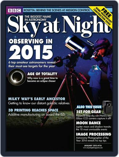 BBC Sky at Night (Digital) December 31st, 2014 Issue Cover
