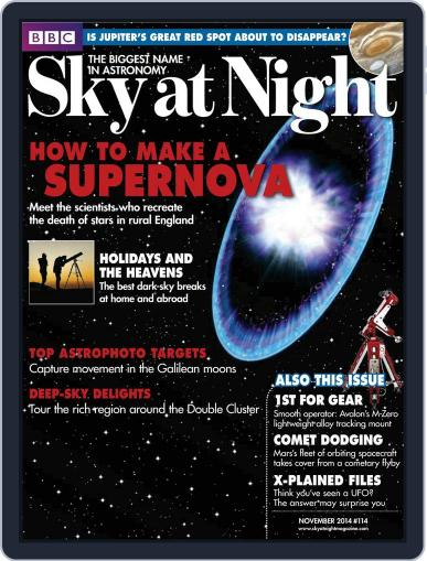 BBC Sky at Night October 15th, 2014 Digital Back Issue Cover