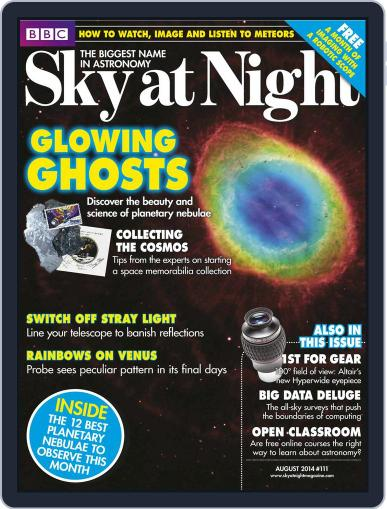BBC Sky at Night July 16th, 2014 Digital Back Issue Cover