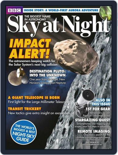 BBC Sky at Night (Digital) June 18th, 2014 Issue Cover