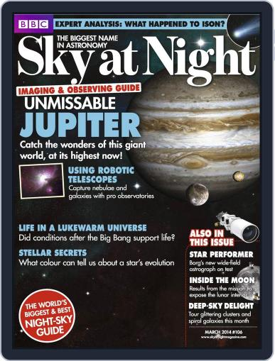 BBC Sky at Night (Digital) February 19th, 2014 Issue Cover