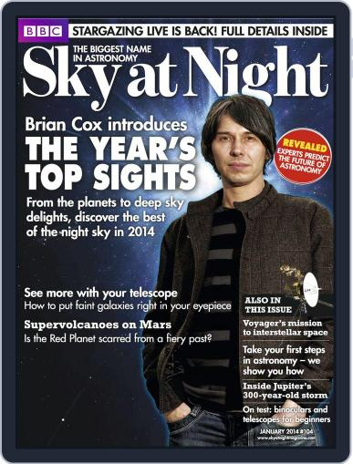 BBC Sky at Night (Digital) December 18th, 2013 Issue Cover