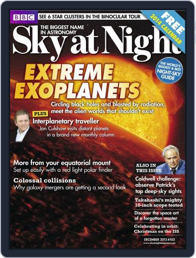 BBC Sky at Night November 20th, 2013 Digital Back Issue Cover