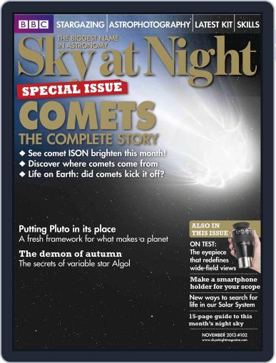 BBC Sky at Night October 16th, 2013 Digital Back Issue Cover