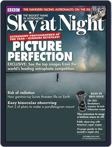BBC Sky at Night (Digital) September 18th, 2013 Issue Cover