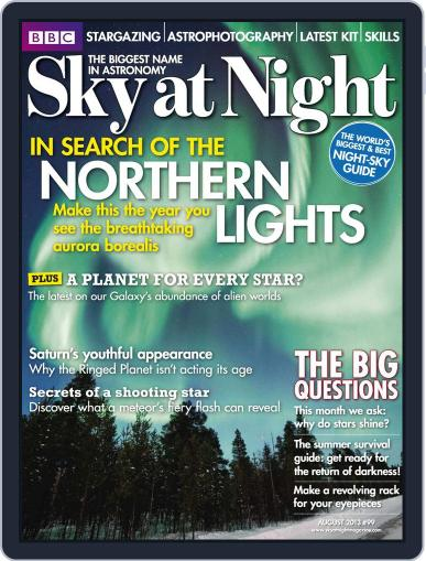 BBC Sky at Night July 17th, 2013 Digital Back Issue Cover