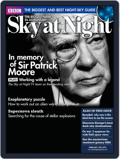 BBC Sky at Night (Digital) January 21st, 2013 Issue Cover