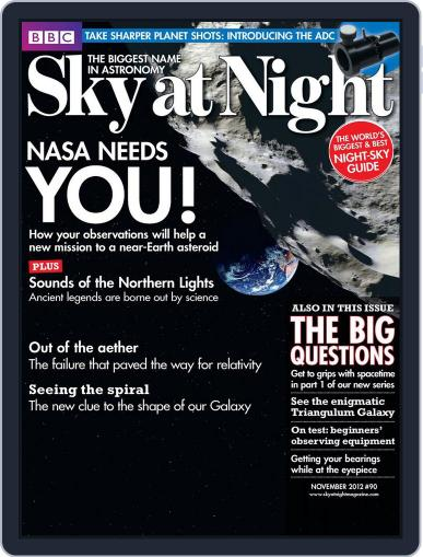 BBC Sky at Night (Digital) October 15th, 2012 Issue Cover