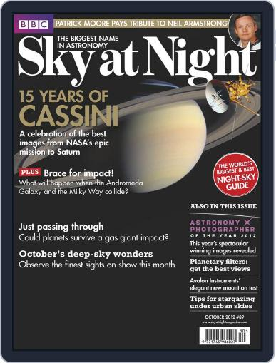 BBC Sky at Night (Digital) September 17th, 2012 Issue Cover
