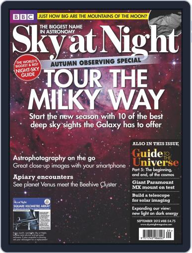 BBC Sky at Night (Digital) August 20th, 2012 Issue Cover