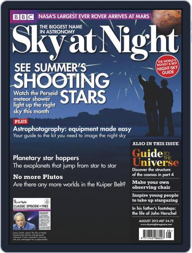 BBC Sky at Night (Digital) July 17th, 2012 Issue Cover