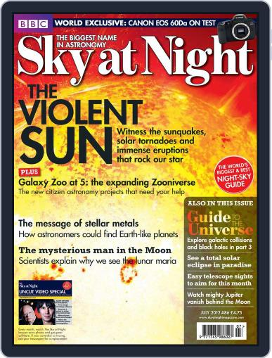 BBC Sky at Night (Digital) June 19th, 2012 Issue Cover