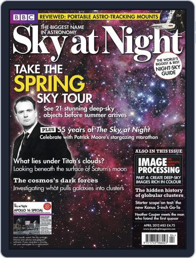 BBC Sky at Night March 19th, 2012 Digital Back Issue Cover