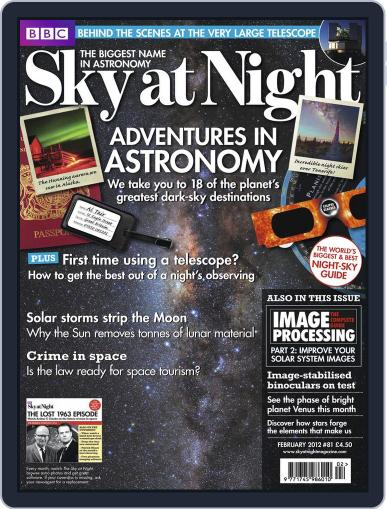 BBC Sky at Night (Digital) January 23rd, 2012 Issue Cover