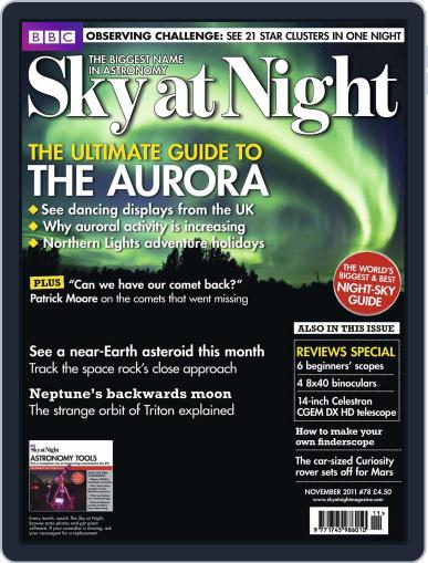 BBC Sky at Night (Digital) October 17th, 2011 Issue Cover