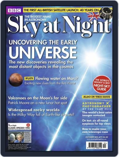 BBC Sky at Night (Digital) September 19th, 2011 Issue Cover