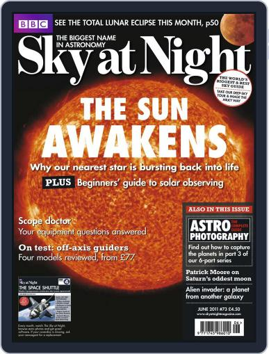 BBC Sky at Night May 16th, 2011 Digital Back Issue Cover