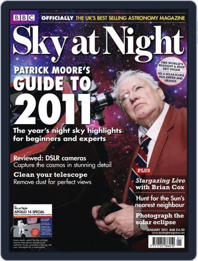 BBC Sky at Night December 20th, 2010 Digital Back Issue Cover