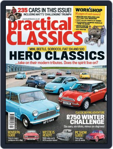 Practical Classics April 1st, 2018 Digital Back Issue Cover