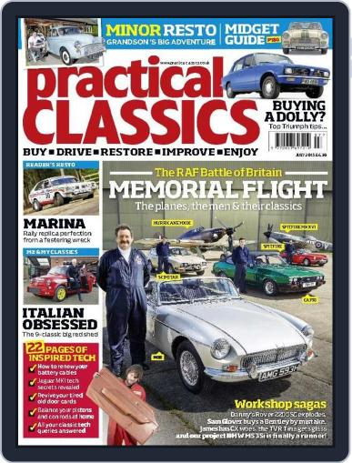 Practical Classics July 1st, 2015 Digital Back Issue Cover