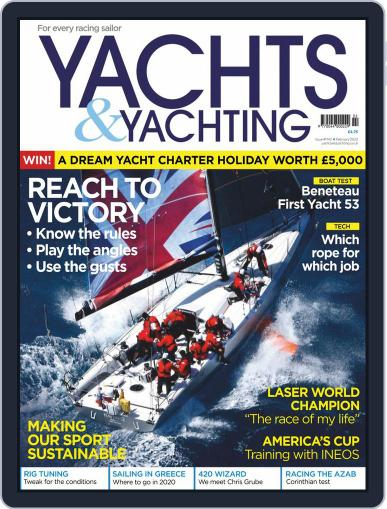 Yachts & Yachting February 1st, 2020 Digital Back Issue Cover